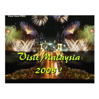 Carte Postale Visite Malaisie 2008 !