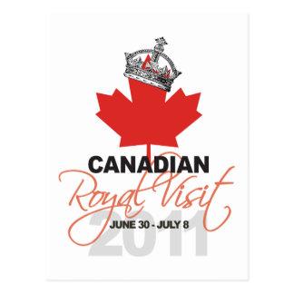 Carte Postale Visite royale de Canidian - mariage de William et