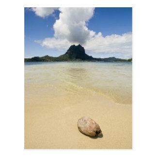 Carte Postale Visite vers la petite île de pique-nique dans la