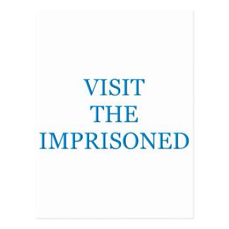 Carte Postale Visitez emprisonné