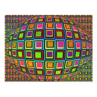 Carte postale visuelle de variété