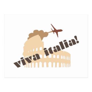 Carte Postale Vivats Italie