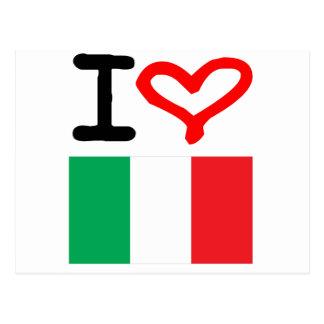Carte Postale Vivats Italie !