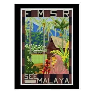 Carte Postale Voir la Malaisie