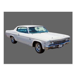 Carte Postale Voiture 1966 de muscle de Chevrolet Caprice 427