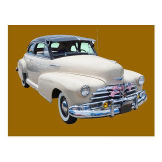 Carte Postale Voiture ancienne 1948 de Chevrolet Fleetmaster