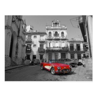 Carte Postale Voitures cubaines 3