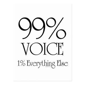 Carte Postale Voix de 99%