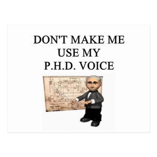 Carte Postale Voix de PHD