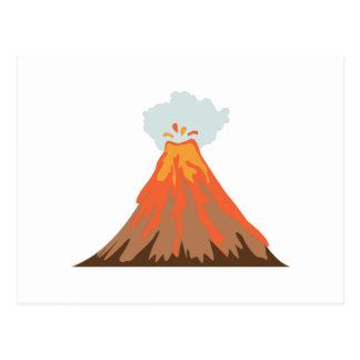 Carte Postale Volcan