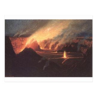 Carte Postale Volcan, 1880s Hawaï de CA