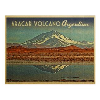 Carte Postale Volcan Argentine d'Aracar