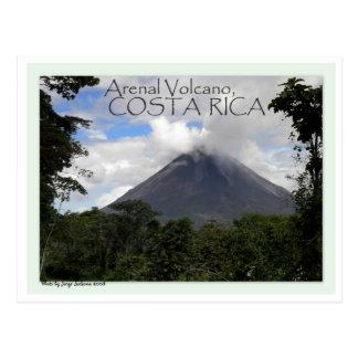 Carte Postale Volcan d'Arenal