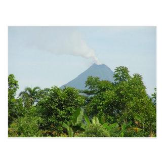 Carte Postale Volcan d'Arenal, Costa Rica.