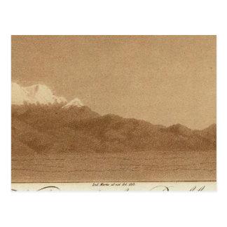 Carte Postale Volcans de Mexico