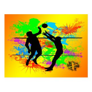 Carte Postale Volleyball