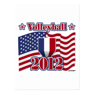 Carte Postale Volleyball 2012