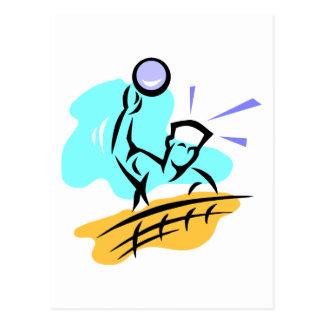 Carte Postale Volleyball de transitoire