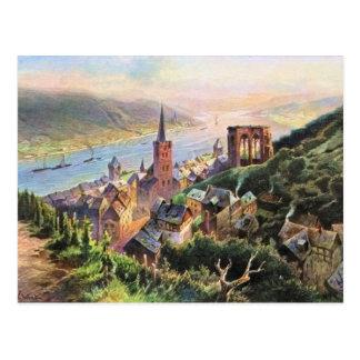 Carte Postale Von Astudin, Bacharach AM Rhein