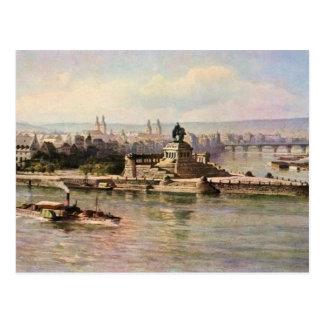 Carte Postale Von Astudin, Coblence Rhein et Moselle