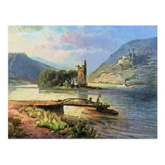 Carte Postale Von Astudin, Maeuseturm, Ehrenfels