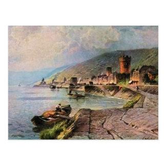 Carte Postale Von Astudin, Ruedesheim AM Rhein