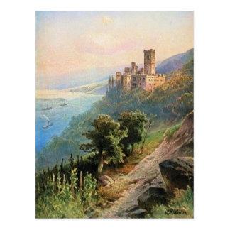 Carte Postale Von Astudin, Schloss Stolzenfels