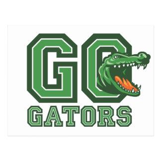 Carte Postale Vont les alligators