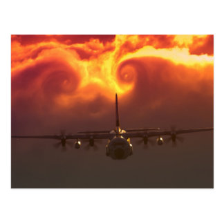 Carte Postale Vortex C-130