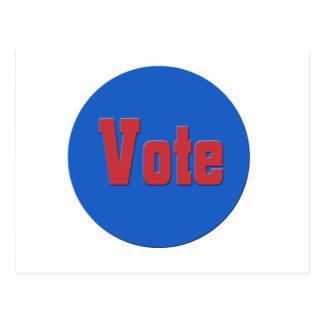 Carte Postale vote