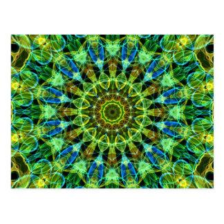 Carte Postale Vous observant kaléidoscope