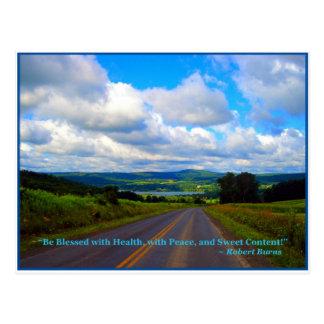 Carte Postale Vous prenez la haute route