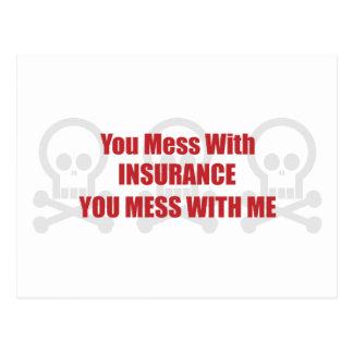 Carte Postale Vous salissez avec l'assurance que vous salissez