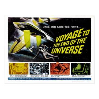 Carte Postale Voyage à l'extrémité de l'univers