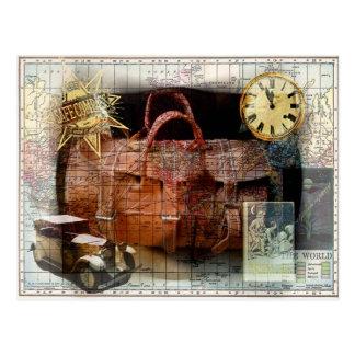 Carte Postale Voyage de fève