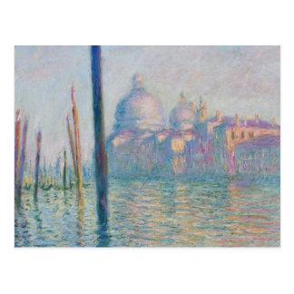 Carte Postale Voyage de Venise Italie de canal grand de Claude