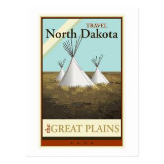 Carte Postale Voyage le Dakota du Nord