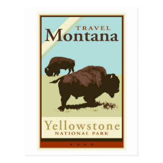 Carte Postale Voyage Montana