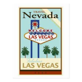 Carte Postale Voyage Nevada