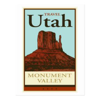 Carte Postale Voyage Utah