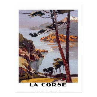 Carte Postale Voyage vintage Corse -