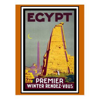 Carte Postale Voyage vintage de l'Egypte