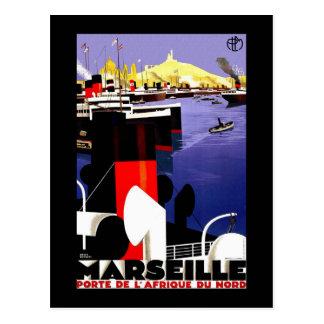 Carte Postale Voyage vintage de Marseille, France