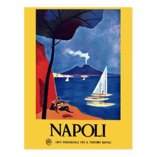 Carte Postale Voyage vintage de Naples Italie