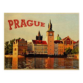 Carte Postale Voyage vintage de Prague