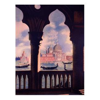 Carte Postale Voyage vintage de Venise Italie
