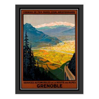Carte Postale Voyage vintage France, Grenoble -