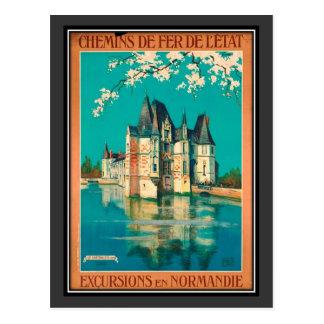 Carte Postale Voyage vintage France, Normandie -