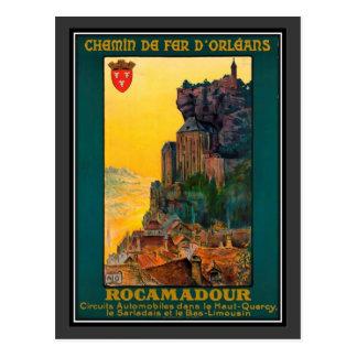 Carte Postale Voyage vintage France, Rocamadour -