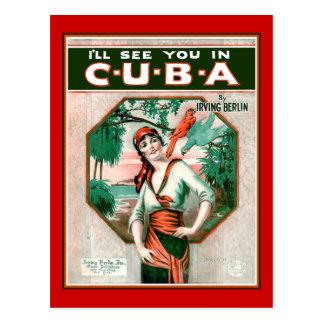Carte Postale Voyez-vous au Cuba